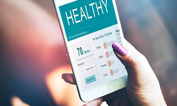 health application on phone